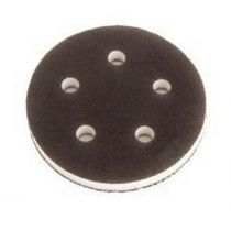1055F, Mirka 5 in. 5 Hole Grip Faced Interface Pad, Qty. 5