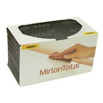 18-118-448, Mirka Mirlon Total 4-1/2 in.x 9 in.Very Fine Scuff Pad (Gray) 1500G, Qty 25