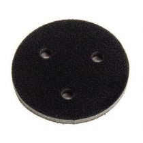9133, Mirka 3 in. x 3/8 in., Abranet Grip Faced Interface Pad, Qty 5
