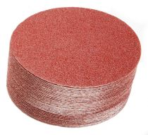 40-341-060, Mirka Royal 6 in. Coarse Cut PSA Disc with liner, 60G, Qty. 50