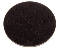 9166, Mirka 6 in. dia. 3/8 in. thick Abranet Grip Faced Interface Pad, Qty. 5