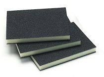 Mirka 3.75 in.x 4.75 in.x 0.5 in.Double Sided Abrasive Sponge 100G, Qty 250 - MK1550-100