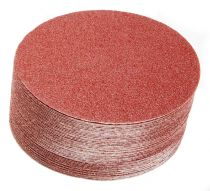 40-631-120, Mirka Royal 8 in. Coarse Cut Grip Disc 120G, Qty. 25