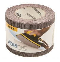 9A-125-320, Mirka Abranet 4-1/2 in. x 25 yd. Mesh Grip Roll 320G, Qty. 1
