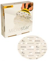Mirka Polarstar 6 in.Film-Backed Grip Disc 1500G, Qty 50 - MKFA62205094