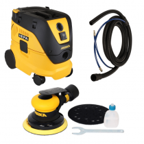 MR5V-912, Mirka PNEUMATIC ROS Dust-Free Sanding System Kit- 5in