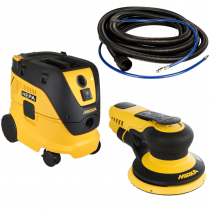 MRP550-912-33, Mirka 5in/ 5mm PROS Dust-Free Sanding System, 33ft Hose