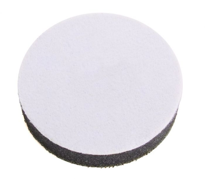 1033, Mirka Grip Faced Interface Pad, 3 dia. 1/2 in.thick , Qty5