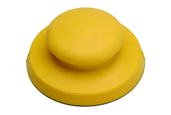 150G, Mirka 5 in.Diameter Molded Palm Sander for Grip, 5 in.dia., Qty 1