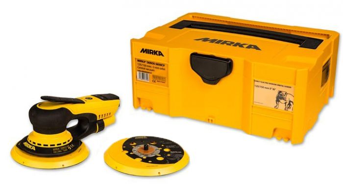 MID65020CAUS, Mirka 6in Deros 650CV 150mm, 5mm Orbit, Electric Random Orbital Sander