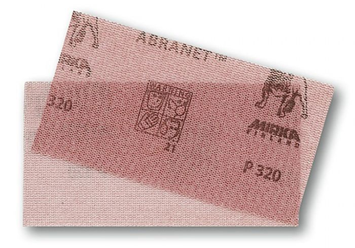 9A-149-080, Mirka Abranet 2-3/4 in. x 5 in. Mesh Grip Sheet 80G, Qty. 50